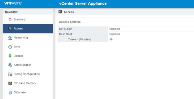 vCenter Server Appliance Integrated TFTP Server | esxsi com