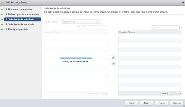 VM Security Tags with NSX Firewall | esxsi com