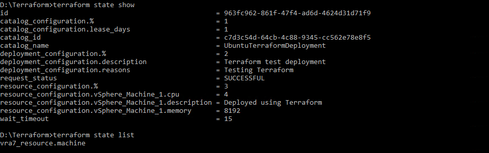 vRA Deployments with Terraform | esxsi com