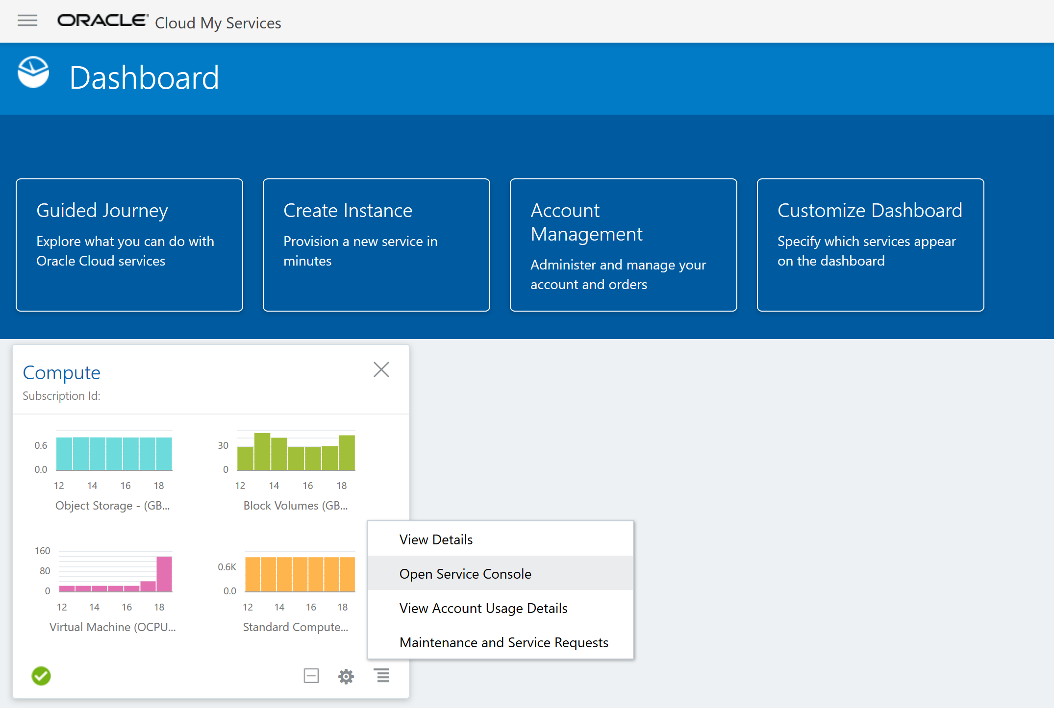 Oracle_Dashboard